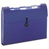 Smead® Step Index Organizer, 12-Pocket, Letter, Poly, Navy SMD70902