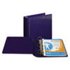 "Top Performance DXL Angle-D View Binder, 3"" Capacity, Dark Blue"