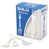 Boxed Reliance Medium Heavy Weight Cutlery, Fork, White, 1000/Carton