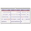 AT-A-GLANCE® Horizontal-Format Three-Month Reference Wall Calendar, 23 1/2 x 12, 2016-2018 AAGPM1428