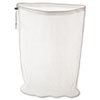 Laundry Net, 24w x 24d x 36h, Synthetic Fabric, White