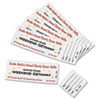Avery® Printable Tickets w/Tear-Away Stubs, 8 1/2 x 11, White, 10/Sheet, 20Sheets/Pack AVE16154