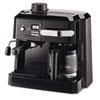 DeLONGHI BCO320T Combination Coffee/Espresso Machine, Black/Silver DLOBCO320T