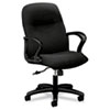 HON® Gamut Series Managerial Mid-Back Swivel/Tilt Chair, Black HON2072CU10T