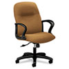 HON Gamut Series Managerial Mid-back Chair - Caramel Seat - Caramel Back - Black Frame - 5-star Base HON2072CU26T