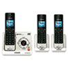 LS6425-3 DECT 6.0 Cordless Voice Announce Answering System