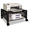Vertiflex™ Underdesk Machine Stand, One-Shelf, 21 1/2w x 17 7/8d x 11 1/2h, Black VRTVF52009