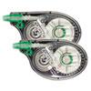 "Tombow® MONO Correction Tape, Non-Refillable, 1/6"" x 394"", White Tape, 2/Pack TOM68627"
