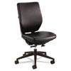 "Safco Sol Task Chairs - Vinyl Black Seat - Steel Frame - 5-star Base - 19"" Seat Width x 19"" Seat Dep SAF7065BV"