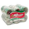 "Duck® Heavy-Duty Carton Packaging Tape, 1.88"" x 55yds, Clear, 24/Pack DUC393730"
