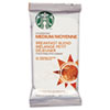 Starbucks® Coffee, Breakfast Blend, 2 1/2 Packet, 18/Box SBK11018193