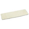 Mop Head, Applicator Refill Pad, Lambswool, 18-Inch, White