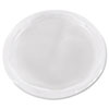 Plug-Style Deli Container Lids, Clear, 50/Pack, 10 Pack/Carton