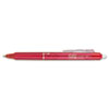 Pilot® FriXion Clicker Erasable Gel Ink Retractable Pen Red Ink, .7mm PIL31452
