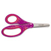 "Softgrip Scissors for Kids, 5"" Length, 1-3/4"" Cut, Blunt Tip, Assorted"