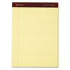 Ampad® Gold Fibre Writing Pads, Legal/Wide, 8 1/2 x 11 3/4, Canary, 50 Sheets, 4/Pack TOP20032