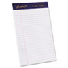 Ampad® Gold Fibre Writing Pads, Jr. Legal Rule, 5 x 8, White, 50 Sheets, 4/Pack TOP20018
