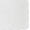 <strong>Hoffmaster®</strong><br />Knurl Embossed Scalloped Edge Placemats, 9.5 x 13.5, White, 1,000/Carton