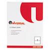 Universal® Inkjet/Laser Printer Labels, 5 1/2 x 8 1/2, White, 200/Pack UNV80206