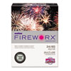 Boise® FIREWORX Colored Paper, 24lb, 8-1/2 x 11, Popper-mint Green, 500 Sheets/Ream CASMP2241GN