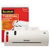 """Scotch™ Thermal Laminator Value Pack, 9"""" W, with 20 Letter Size Pouches MMMTL902VP"""