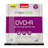 Maxell® DVD+R Discs, 4.7GB, 16x, Spindle, Silver, 100/Pack MAX639016