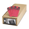 <strong>Avery®</strong><br />Sold Tags, Paper, 4 3/4 x 2 3/8, Red/Black, 500/Box