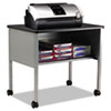 """Mayline Eastwinds 2140CAANTGRY Printer Stand - 200 lb Load Capacity - 1 x Shelf(ves) - 26.5"""" Height  MLN2140CAANTGRY"""