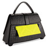"""Post-it Pop-up Notes Purse Dispenser for 3 in x 3 in Notes - 3"""" x 3"""" - Holds 100 Notes - Black MMMPD654US"""