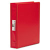 Varicap6 Expandable 1 To 6 Post Binder, 11 x 8 1/2, Red