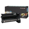 Lexmark™ C782U1CG Extra High-Yield Toner, 16500 Page-Yield, Cyan LEXC782U1CG