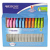 "Westcott® Kids Soft Handle Scissors with Antimicrobial Protection, 12/Pack, 5"" Ptd ACM14874"
