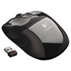 Logitech® M525 Wireless Mouse, Compact, Right/Left, Black LOG910002696