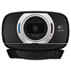 Logitech® C615 HD Webcam, 1080p, Black/Silver LOG960000733