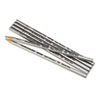 Verithin Colored Pencils, Metallic Silver, Dozen