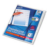 Avery® Print & Apply Clear Label Unpunched Dividers, 8-Tab, Ltr, 5 Sets AVE16063