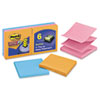 Post-it® Pop-up Notes Super Sticky Pop-up 3 x 3 Note Refill, Marrakesh, 90-Sheet, 6/Pack MMMR3306SSAN