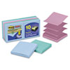 Post-it® Pop-up Notes Super Sticky Pop-up Recycled Notes in Bora Bora Colors, 3 x 3, 90-Sheet, 10/Pa MMMR33010SST