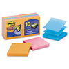 Post-it® Pop-up Notes Super Sticky Pop-up 3 x 3 Note Refill, Marrakesh, 90-Sheet, 10/Pack MMMR33010SSAN