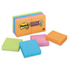 Post-it® Notes Super Sticky Pads in Marrakesh Colors, 2 x 2, 90-Sheet, 8/Pack MMM6228SSAN