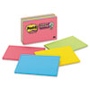 Post-it® Notes Super Sticky Meeting Notes in Rio de Janeiro Colors, 6 x 4, 45-Sheet, 8/Pack MMM6445SSP