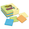 Post-it® Notes Super Sticky Note Pads Office Pack, 3 x 3, Canary Yellow/Marrakesh, 90-Sheet, 24/Pack MMM65424SSCYN