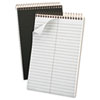 Ampad® Gold Fibre Spiral Steno Book, Gregg, 6 x 9, Grey Cover, 100 Sheets TOP20808