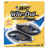 """<strong>BIC®</strong><br />Wite-Out EZ Correct Grip Correction Tape, NonRefill, 1/6"""" x 402"""", 2/Pk"""