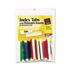 Avery® Insertable Index Tabs with Printable Inserts, Two, Assorted Tab, 25/Pack AVE16239