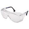 Ultraspec 2001 Otg Safety Eyewear, Clear/black Frame, Clear Lens