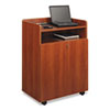 Safco® Executive Mobile Presentation Stand, 29-1/2w x 20-1/2d x 40-3/4h, Cherry SAF8919CY