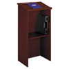Safco® Stand-Up Lectern, 23w x 15-3/4d x 46h, Cherry SAF8915CY