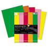 Astrobrights® Color Cardstock, 65lb, 8 1/2 x 11, Assorted, 250 Sheets WAU21003