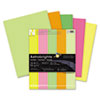 "Astrobrights® Color Paper - ""Neon"" Assortment, 24lb, 8 1/2 x 11, 5 Colors, 500 Sheets WAU20270"